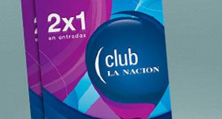 2 x 1 con Club La Nación