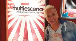 Flavio Mendoza en el Multiescena